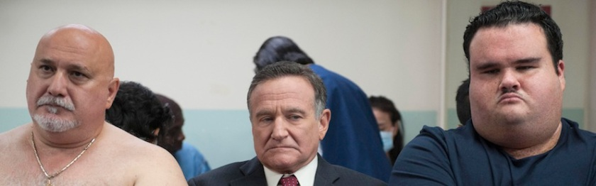 """Robin Williams stars as """"Henry Altmann"""" in the movie THE ANGRIEST MAN IN BROOKLYN. Photo Credit: Jojo Whilden."""